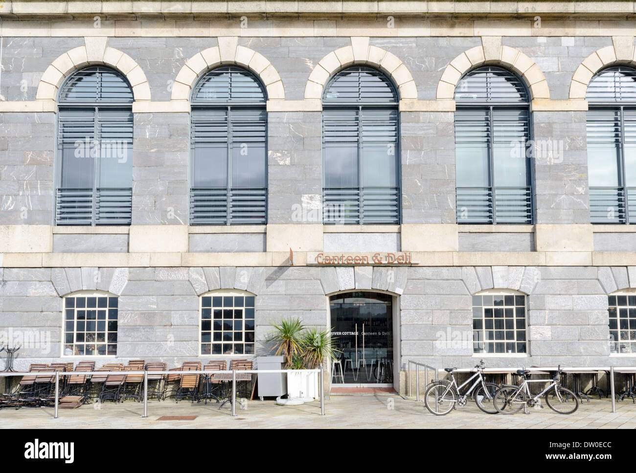River Cottage Canteen At Royal William Yard In Plymouth Stock Photo Alamy