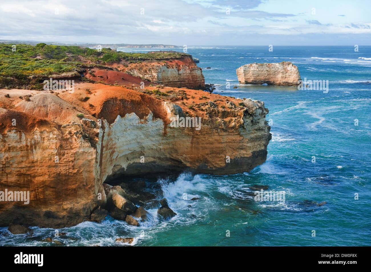 famous australian rocks - Stock Image