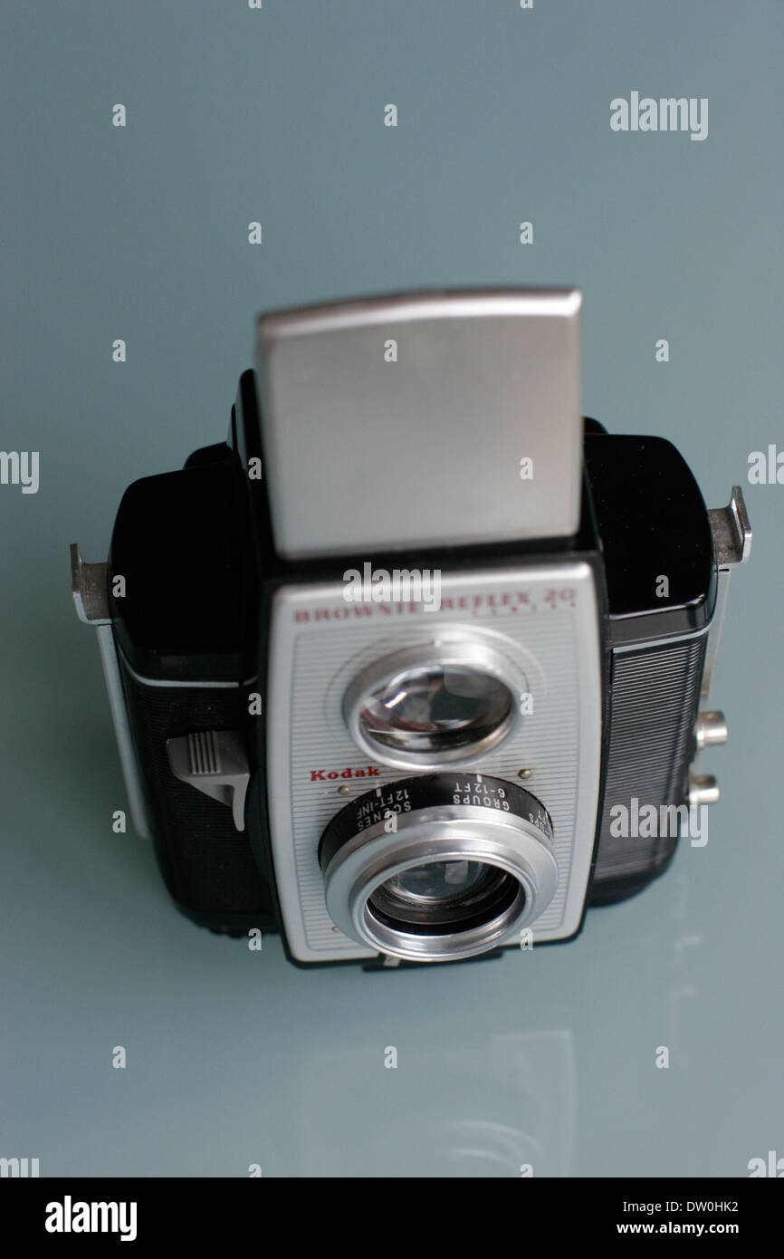 Kodak camera brownie reflex 20 - Stock Image