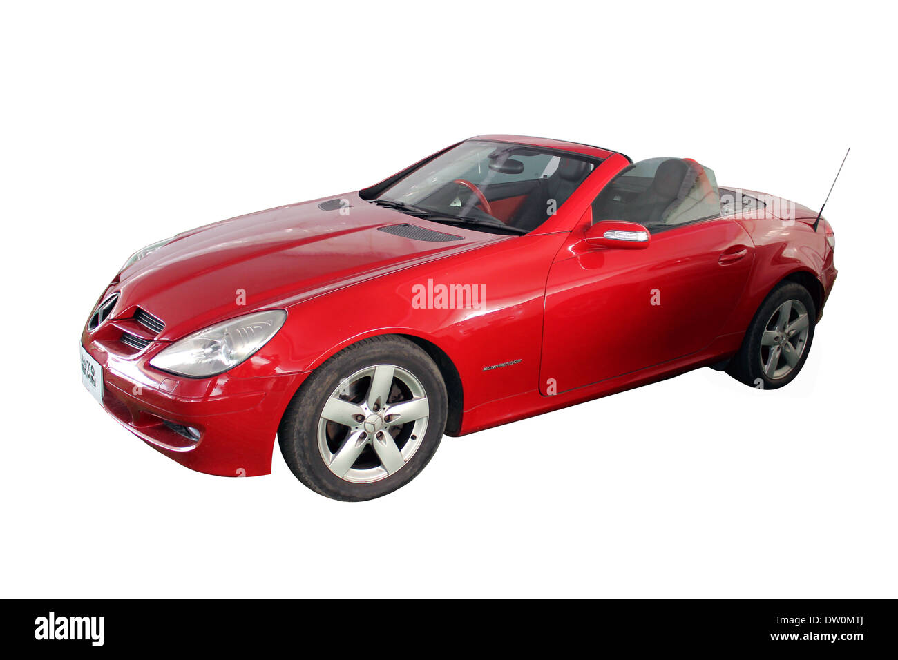 2011 Mercedes Benz Sl550 Convertible >> White Mercedes Convertible Car Stock Photos & White Mercedes Convertible Car Stock Images - Alamy