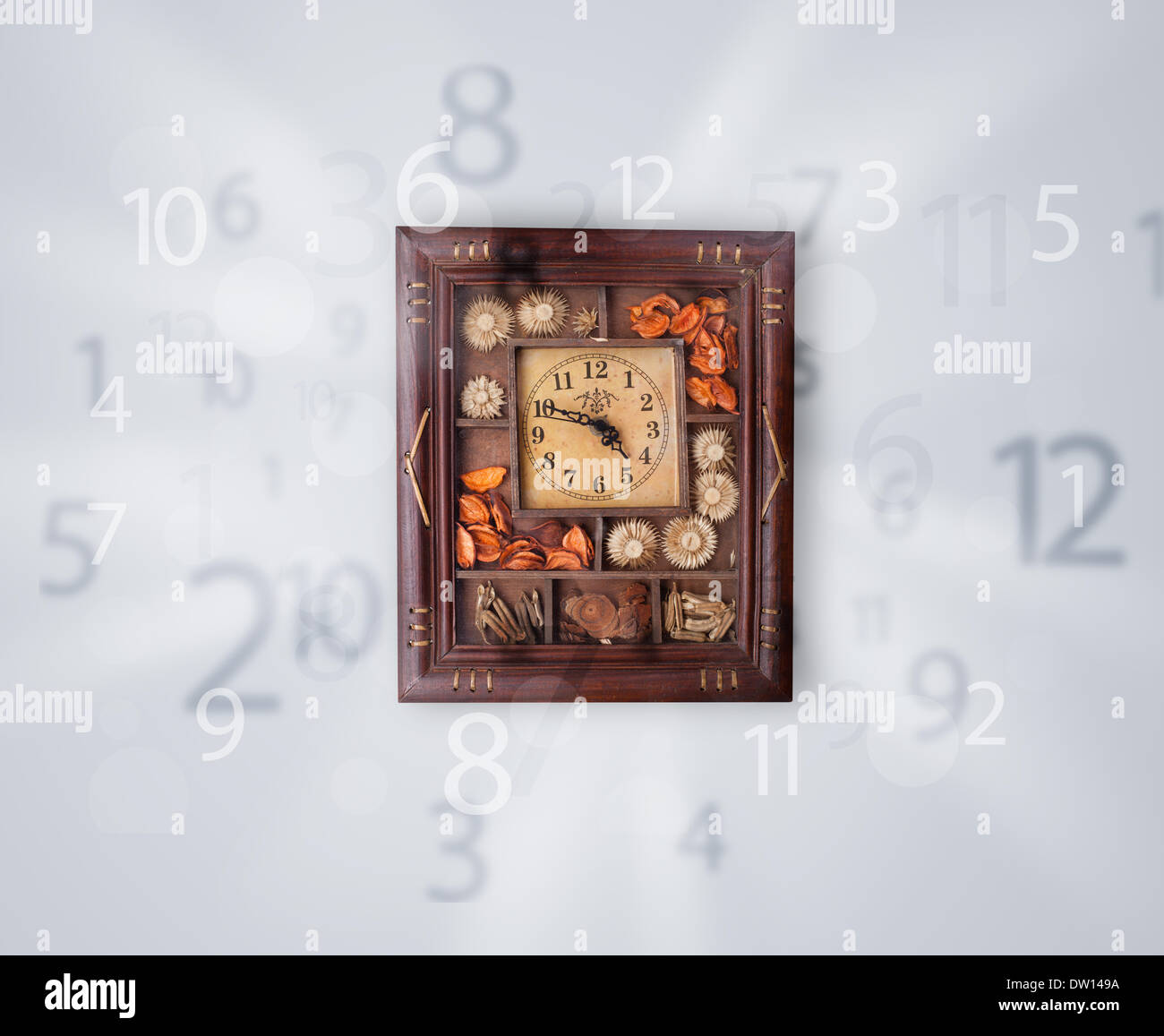 Digital Clock Numbers Stock Photos & Digital Clock Numbers