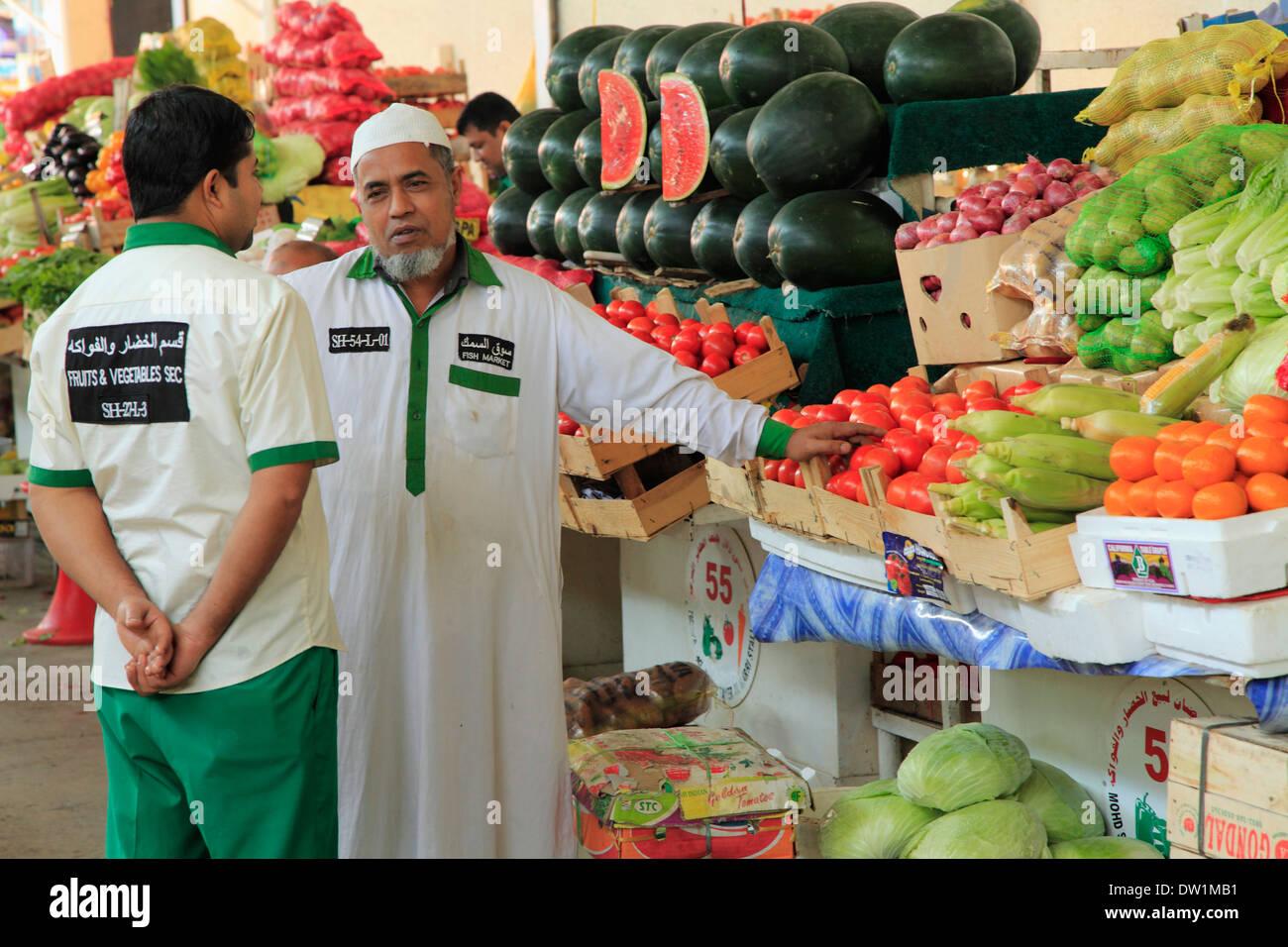 Vegetable Market Dubai Stock Photos & Vegetable Market Dubai