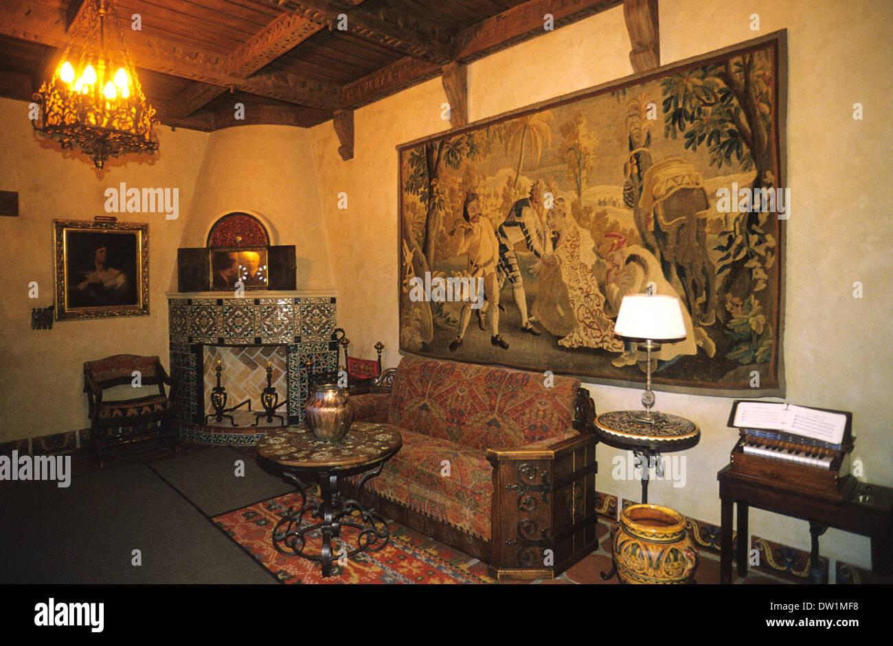 elk248 2084 california death valley national park scotty s castle rh alamy com 1925 bedroom Blue Attic Bedroom