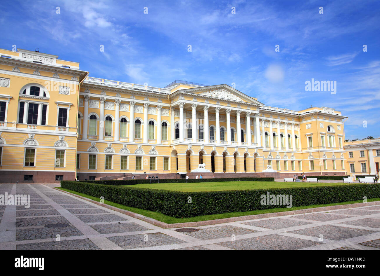 Russian museum in St. Petersburg Russia Stock Photo