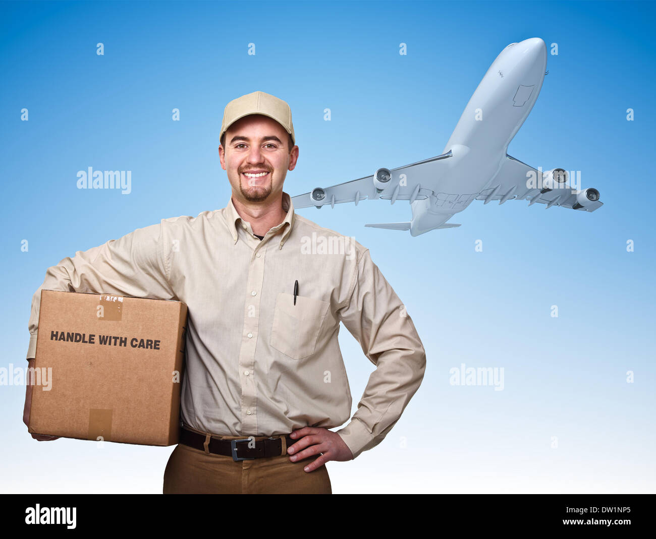 fast air delivery Stock Photo