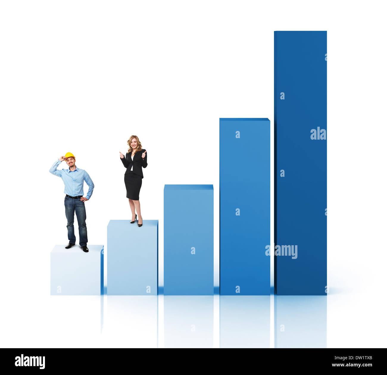 improve business - Stock Image