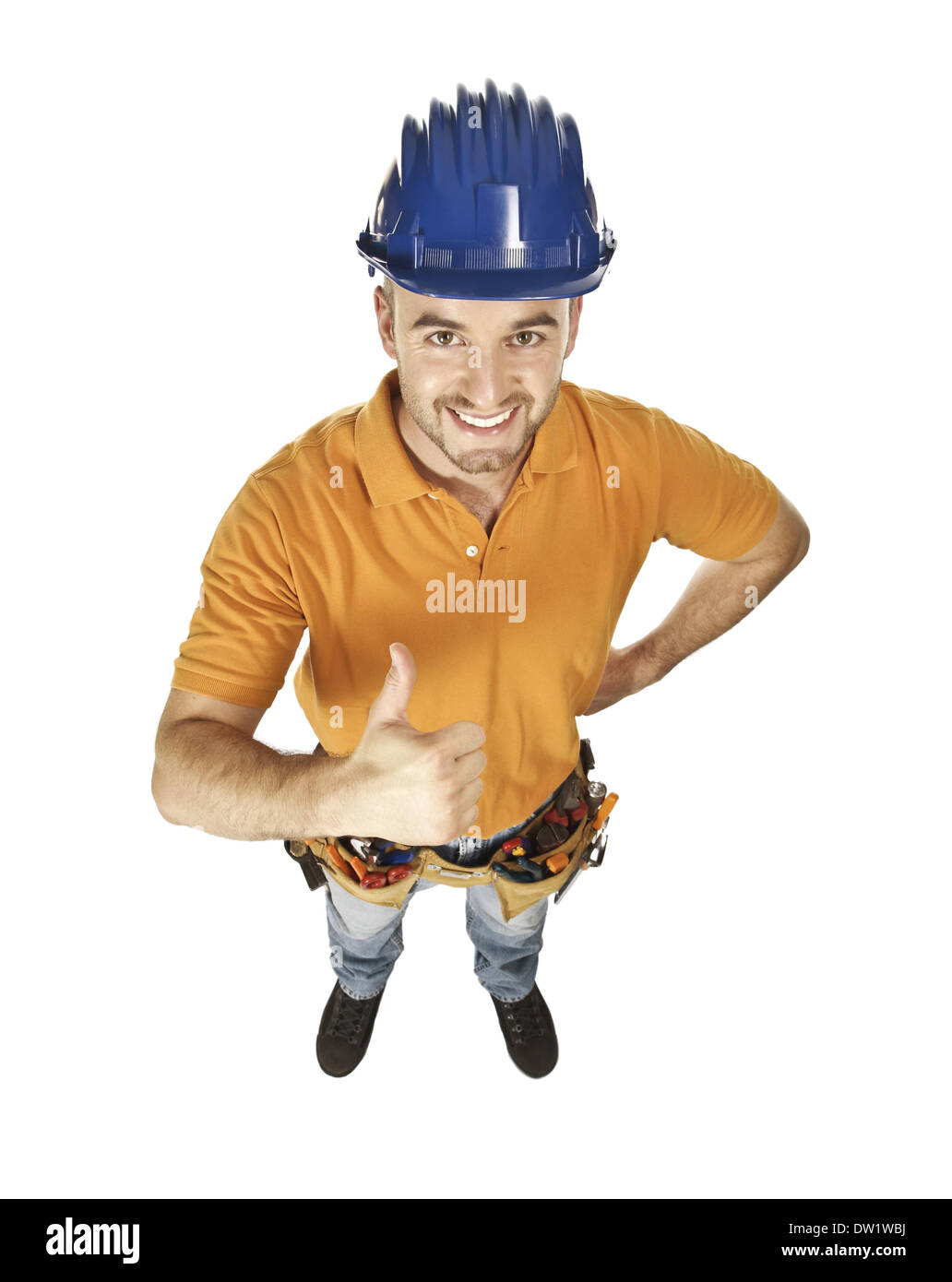 constructor worker - Stock Image