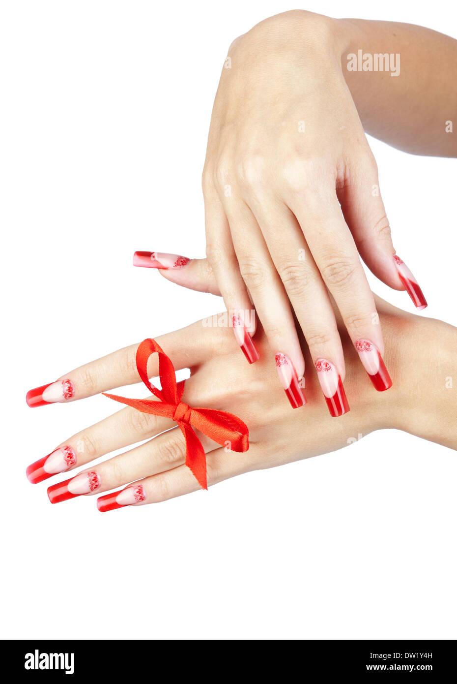 Long Finger Nails Stock Photos & Long Finger Nails Stock Images ...