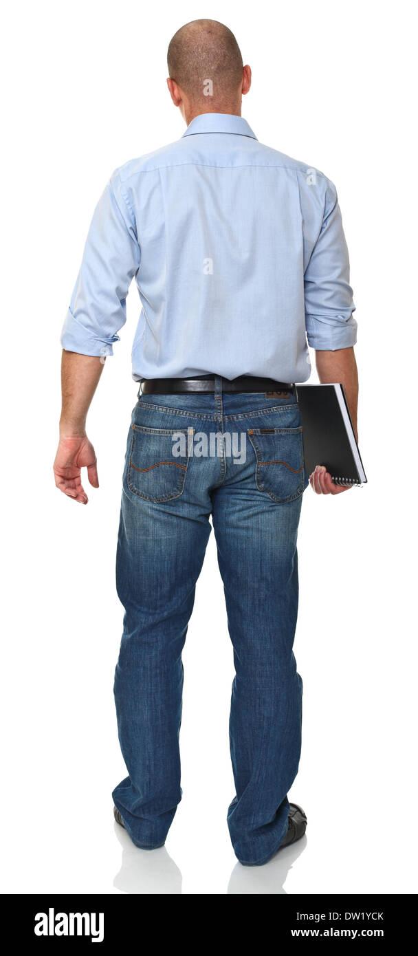 teacher backview - Stock Image