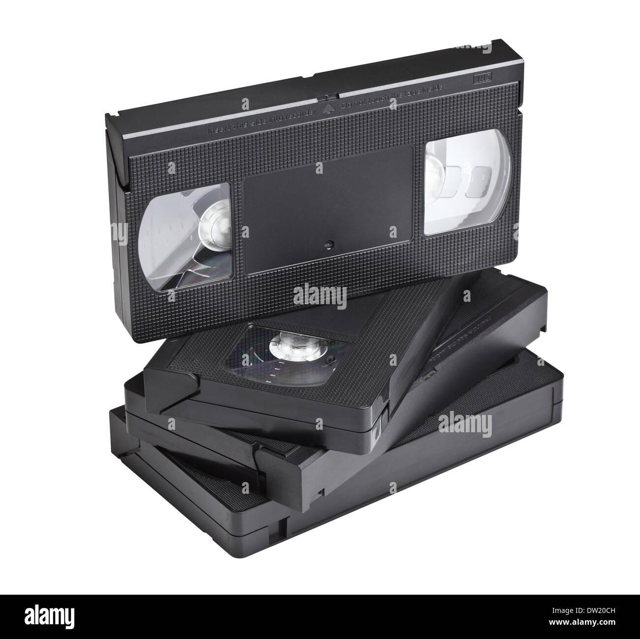vhs cassette - Stock Image