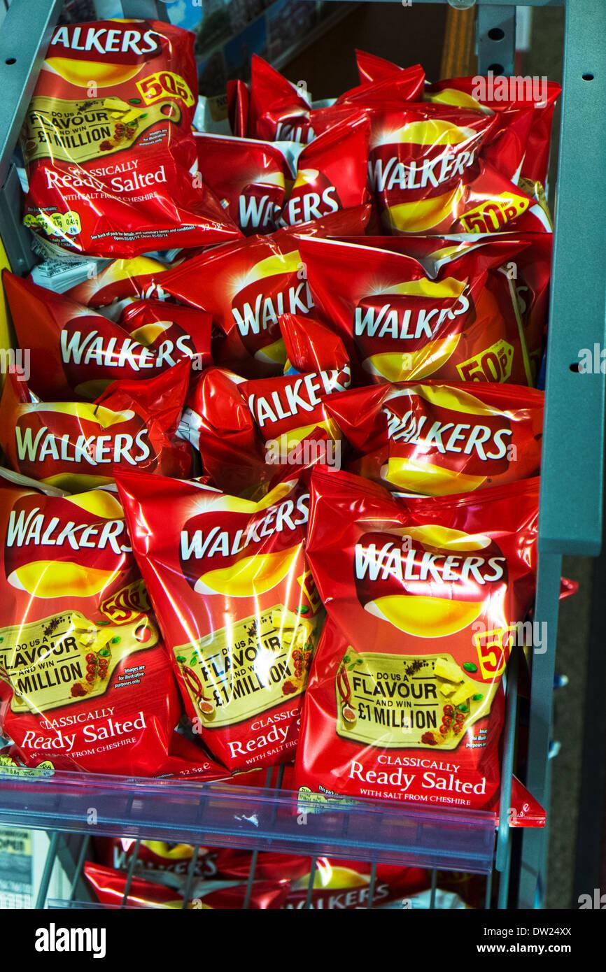 Walkers Crisps Snack Packet Holder