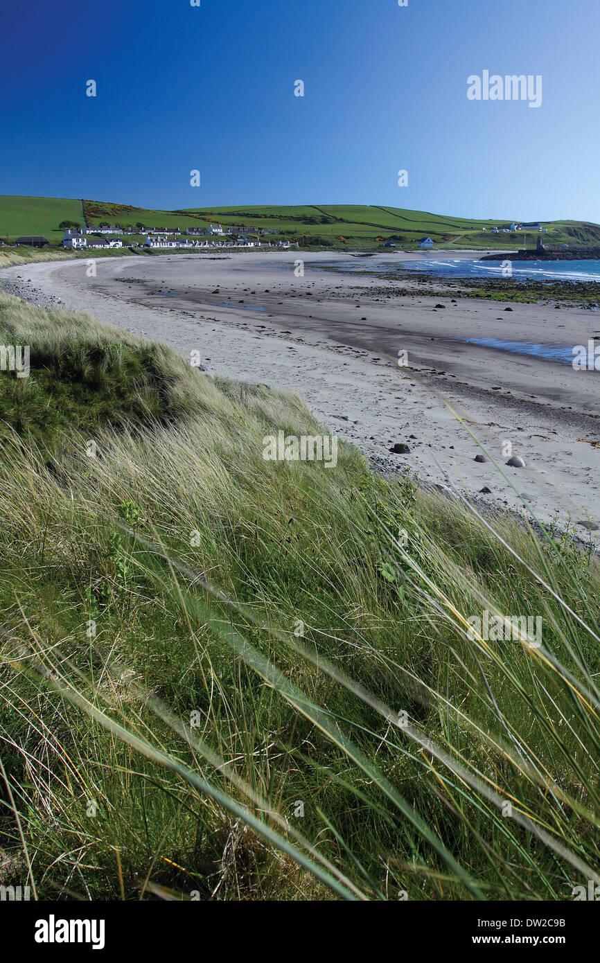 Port Logan, Dumfries & Galloway - Stock Image