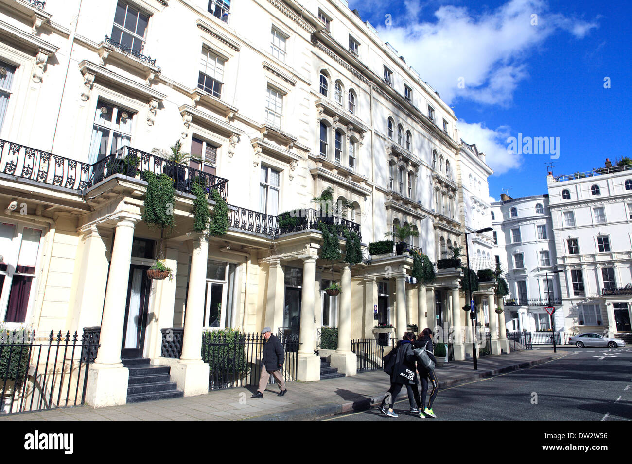 united kingdom london royal borough of kensington and chelsea prince's square w2 - Stock Image