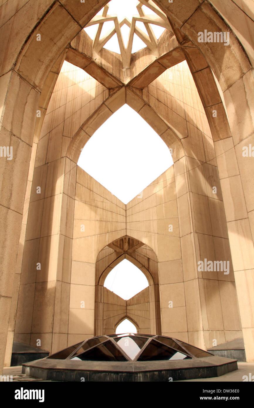 Maqbaratoshoara.Dome of Poets.Shahryar's Tomb.Tabriz,Iran. - Stock Image