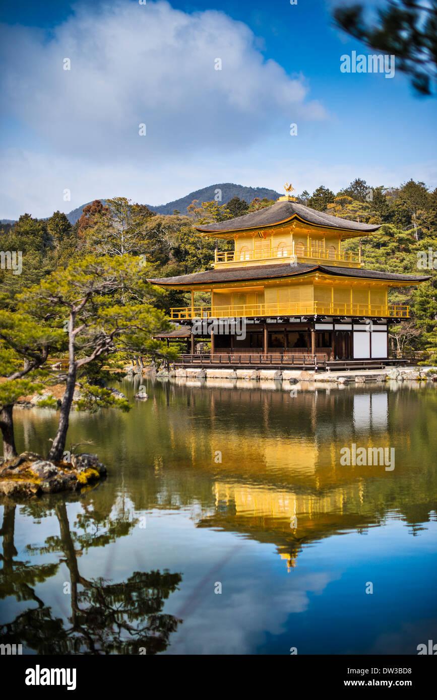 Ginkaku-ji Temple of the Golden Pavilion in Kyoto, Japan. - Stock Image