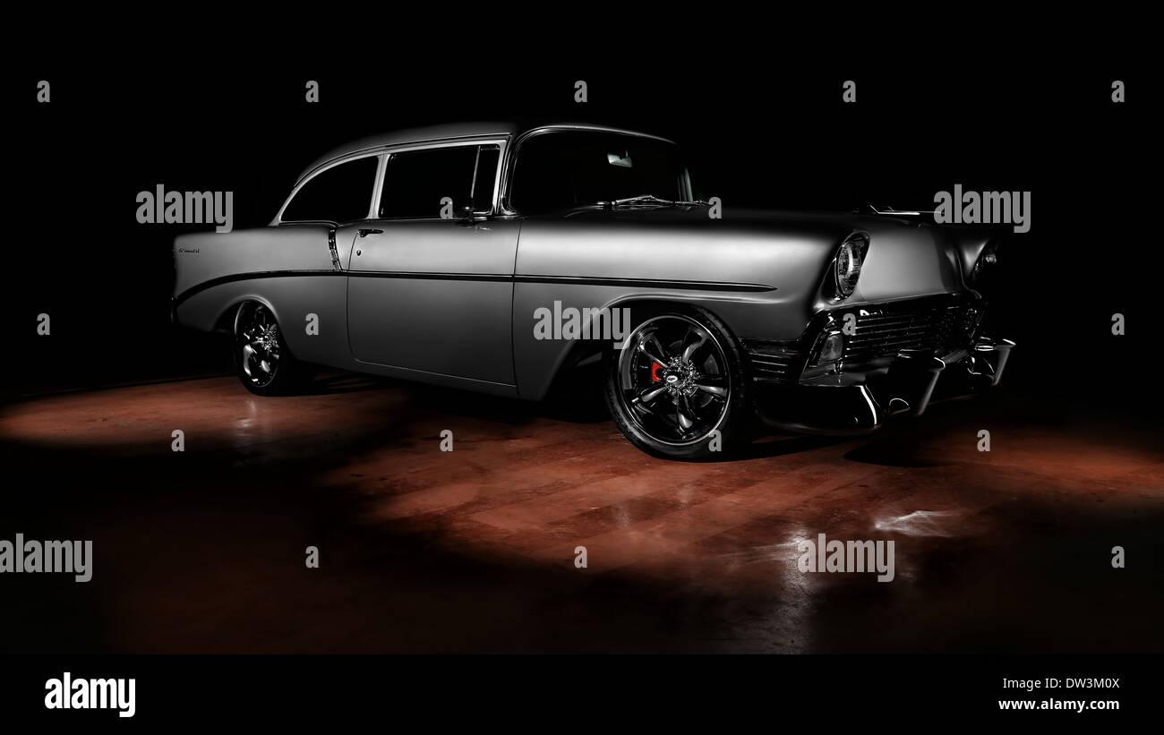 1956 Chevrolet 210 Bel Air - Stock Image