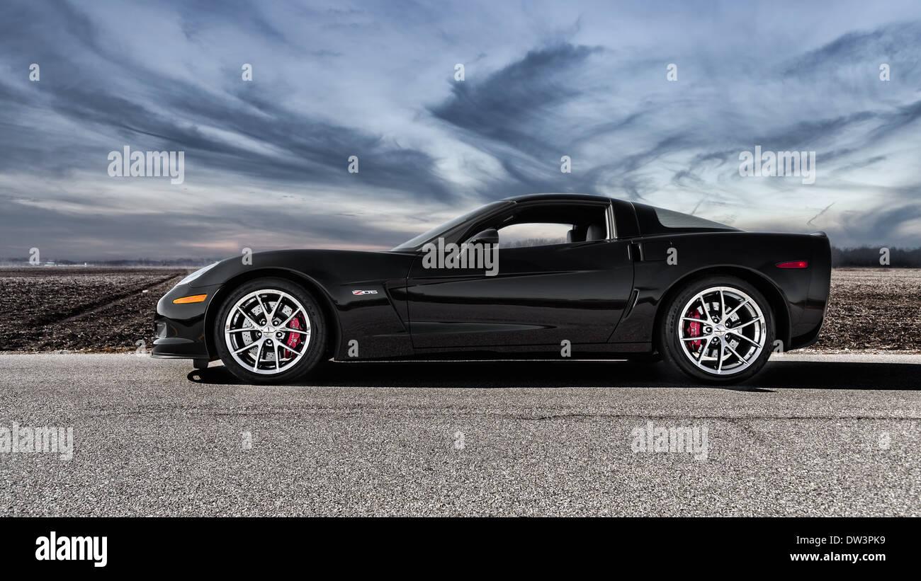 2013 Corvette Z06 >> 2013 Chevrolet Corvette Z06 Stock Photo 67081149 Alamy