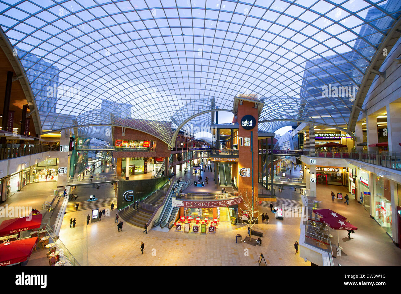 abe68df7160f Cabot circus shopping centre in Bristol Stock Photo: 67083004 - Alamy
