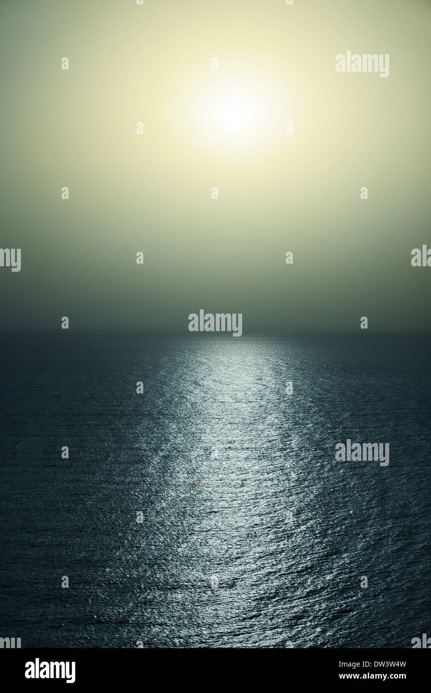 Mystical sea - Stock Image