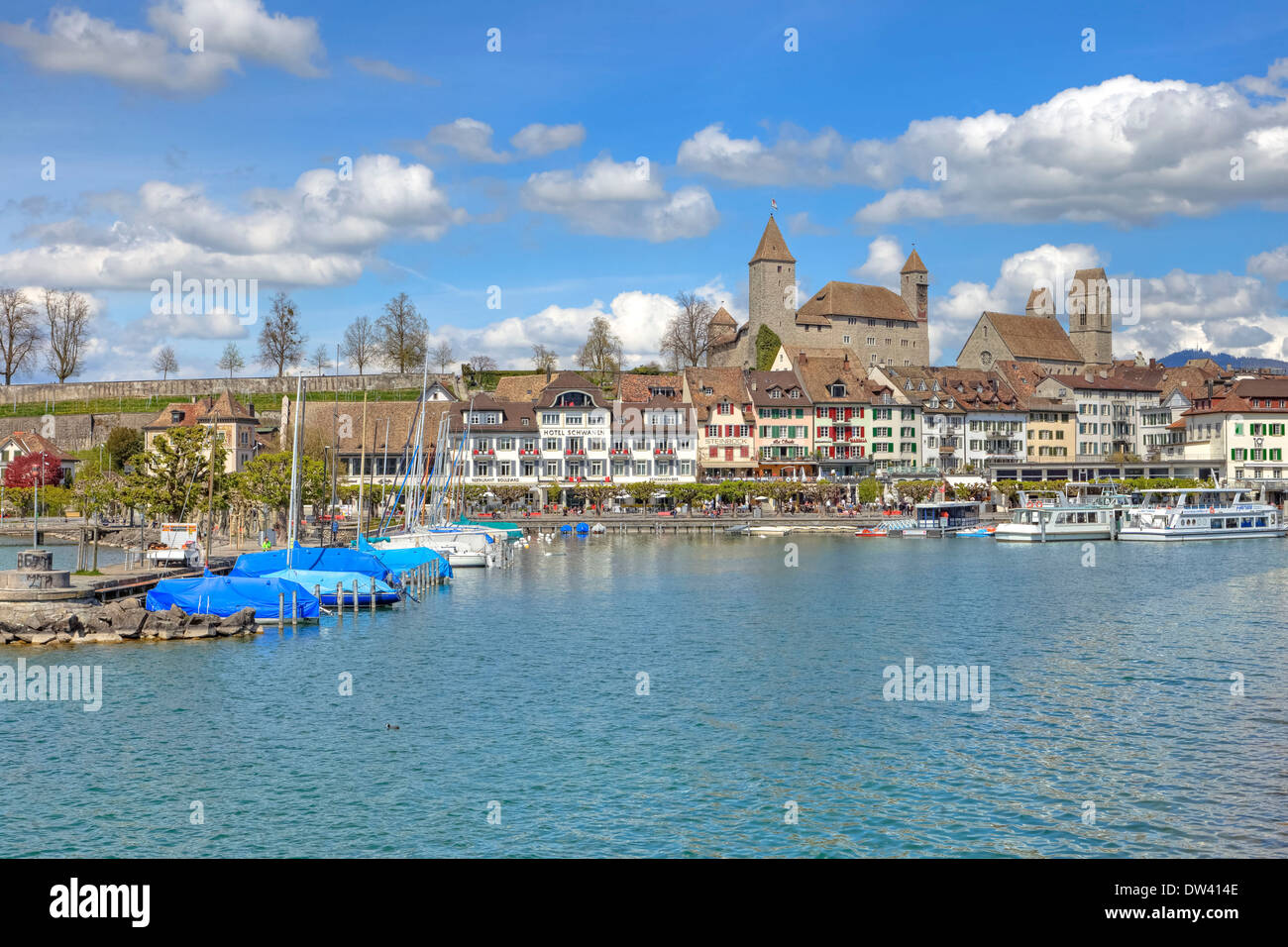Rapperswil - Stock Image