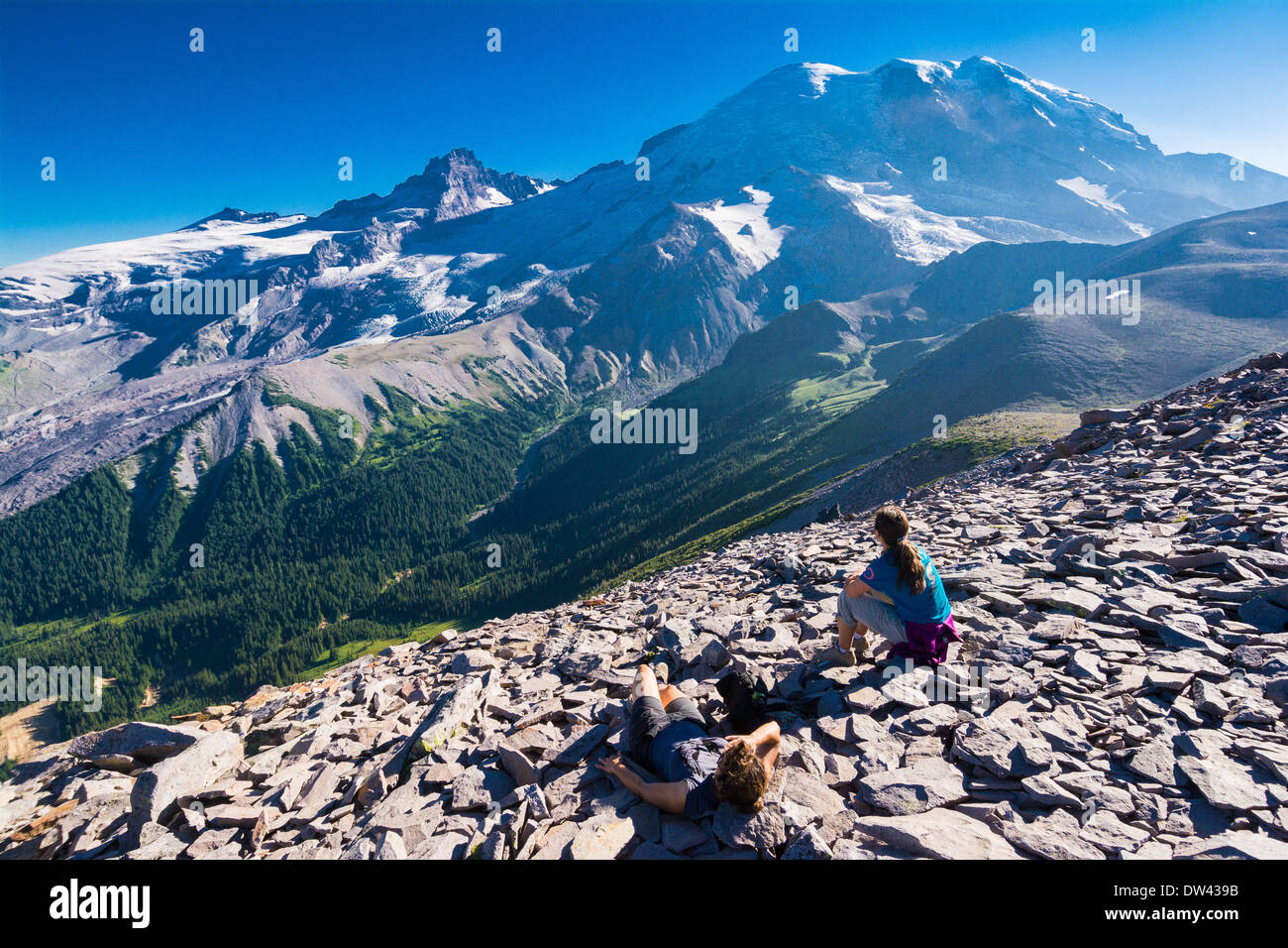 Mount Rainier Summit Sunrise