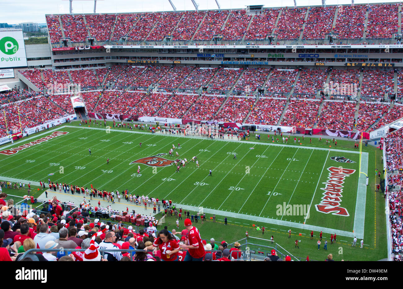 Professional NFL Football Tampa Bay Bucs and San Fransisco 49ers at Raymond  James Stadium in Tampa Florida game 0d6ddfd2a55