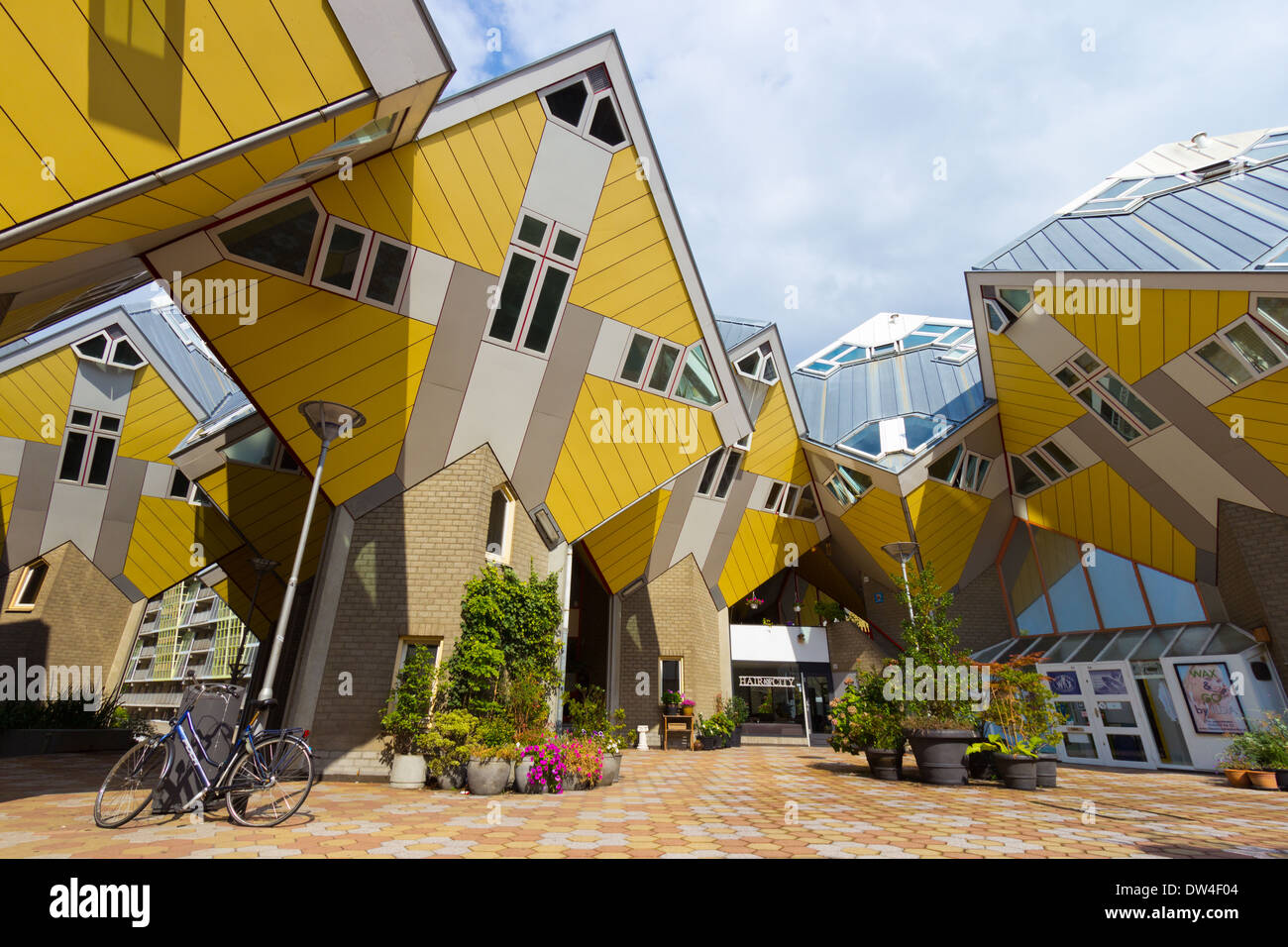 Cube houses Rotterdam, Holland - Stock Image