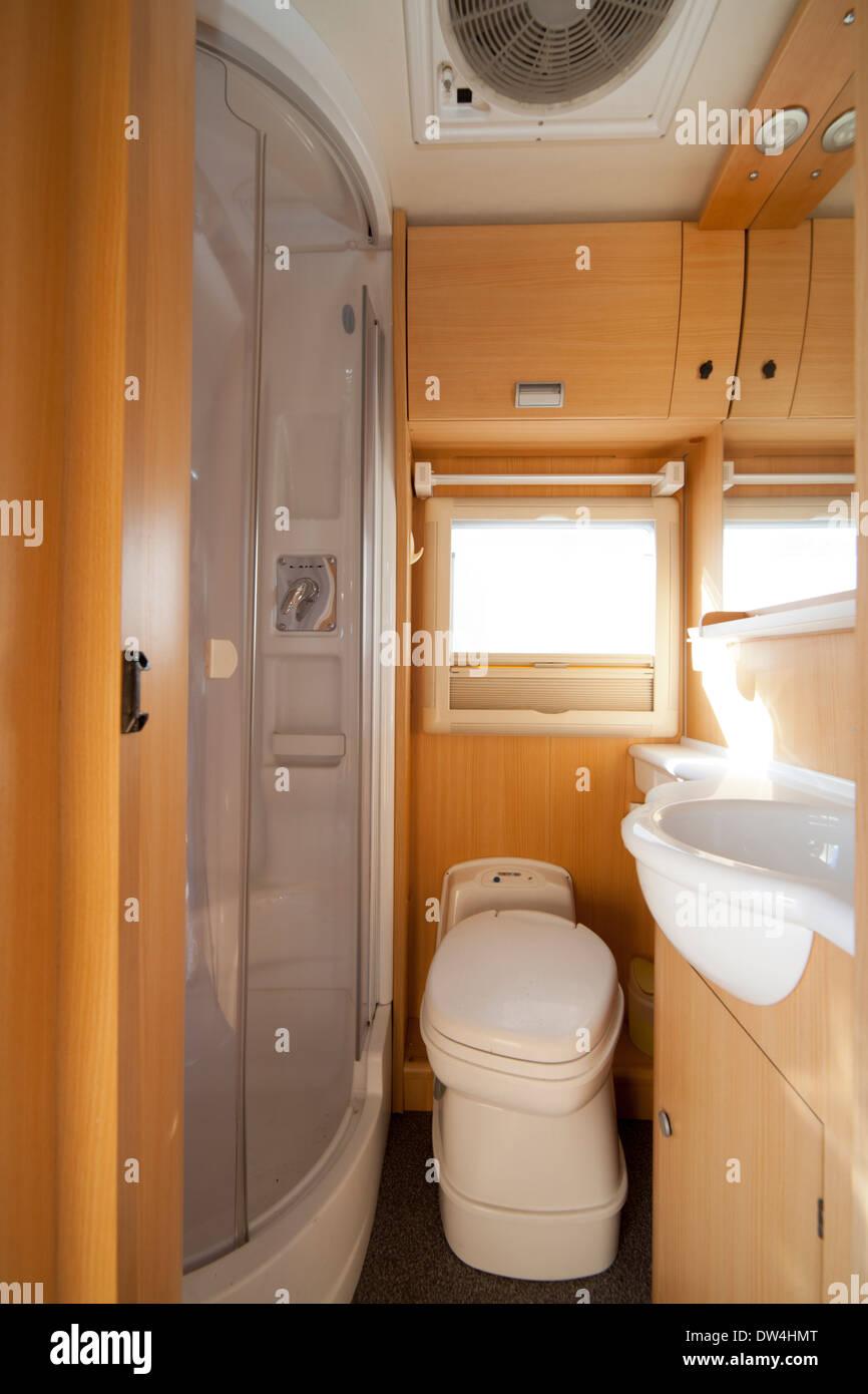 Camper Van Bathroom Interior