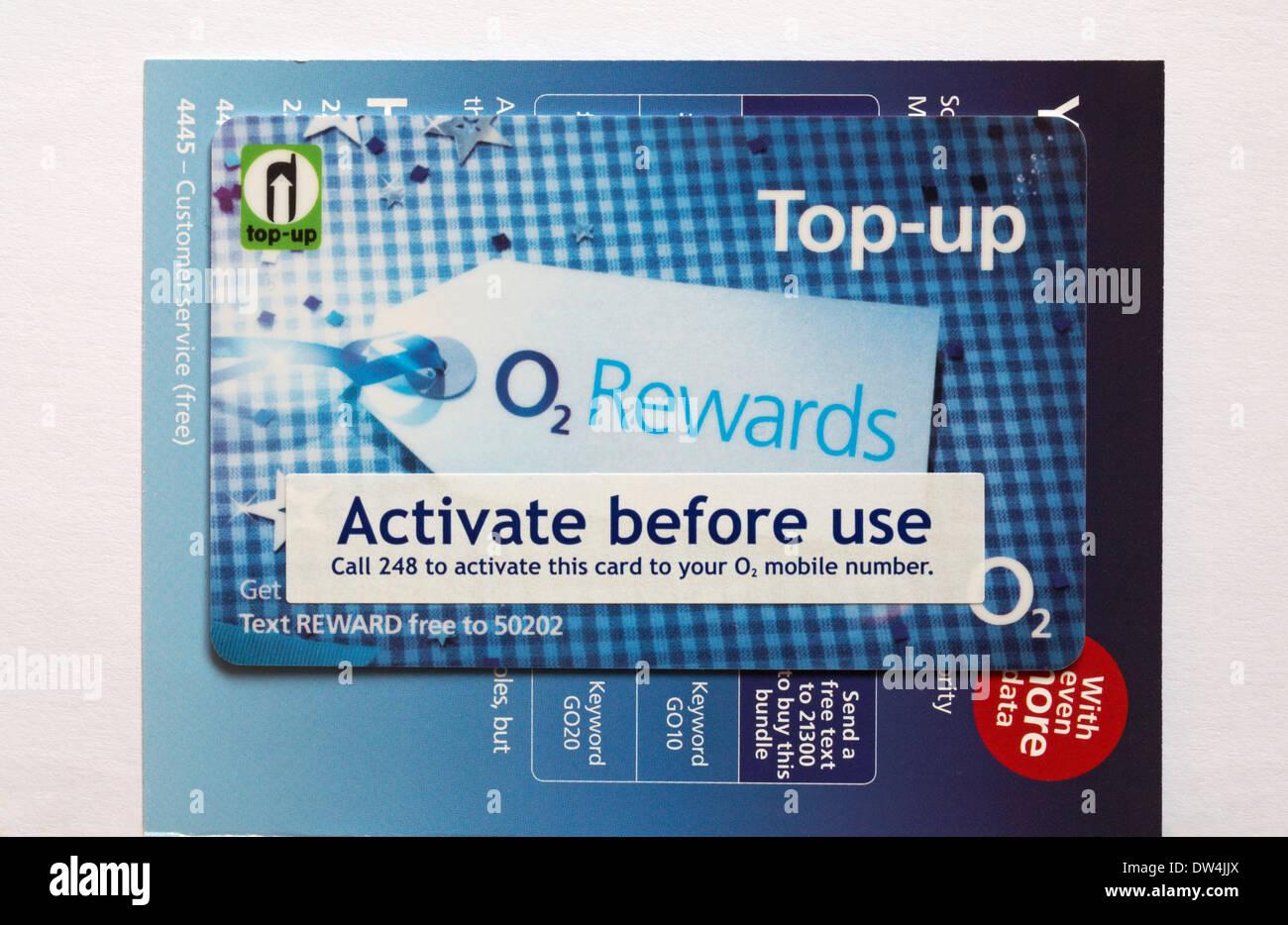 Pay As You Go rewards