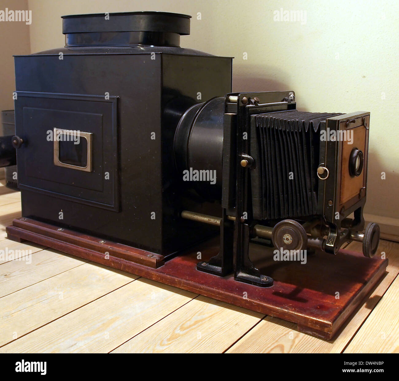 Old photographic equipment - Stock Image
