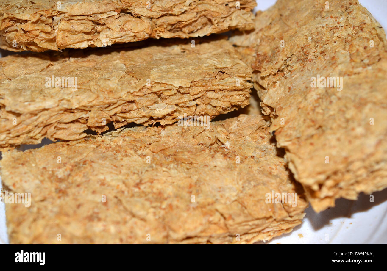 Weet Bix Is A High Fibre And Low Sugar Breakfast Cereal Biscuit Stock Photo Alamy