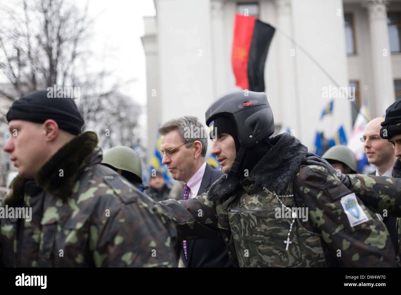 Ukrainian army disperses home