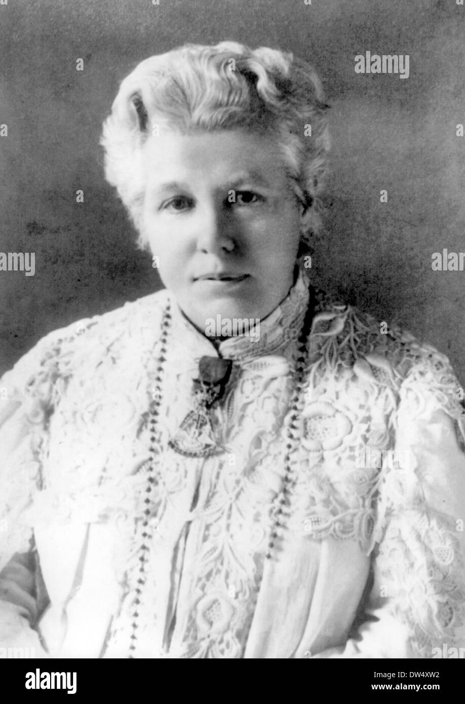 ANNIE BESANT (1847-1933) English socialist and womens rights activist - Stock Image
