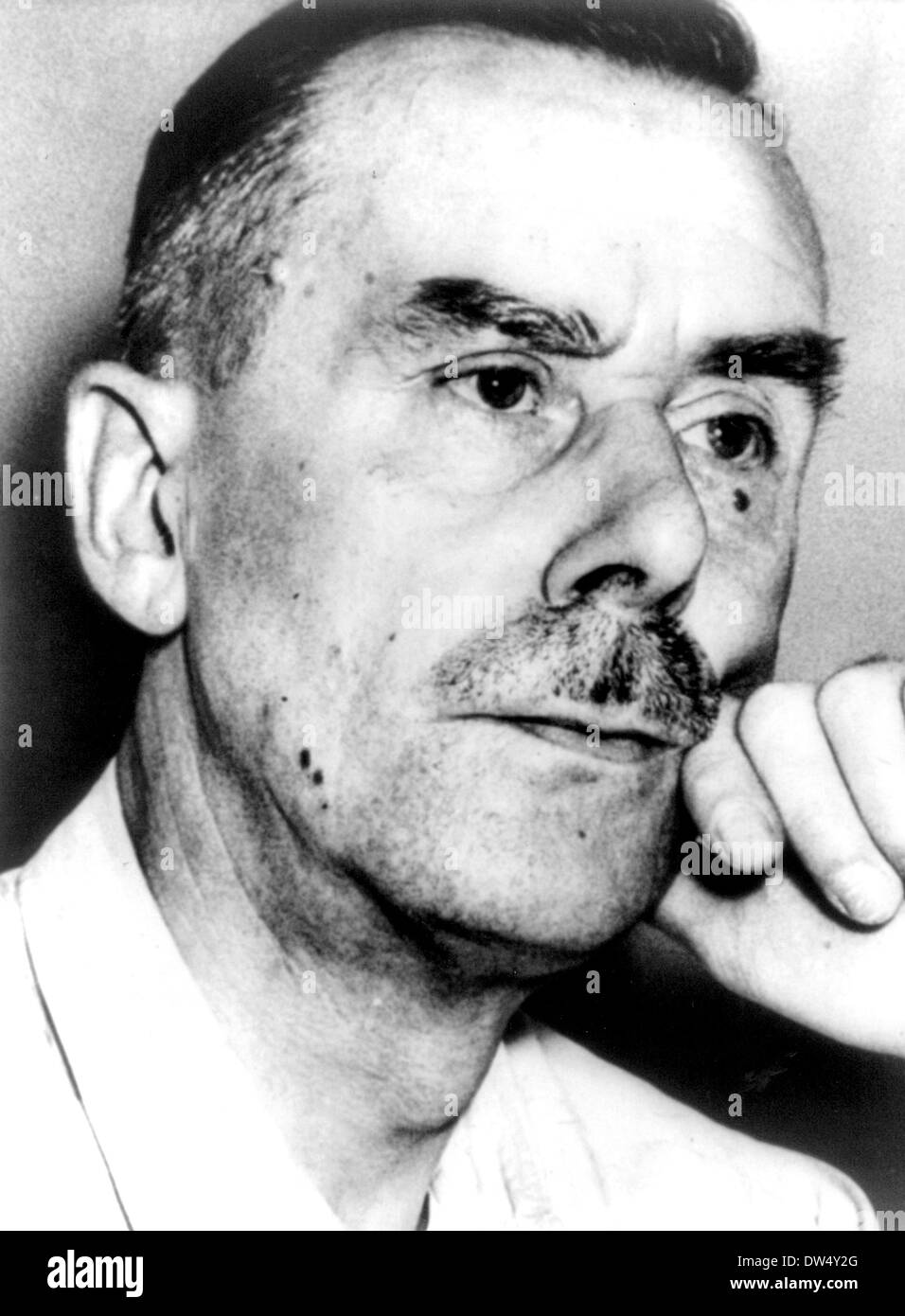 THOMAS MANN (1875-1955) German writer and social critic about 1935 Stock Photo
