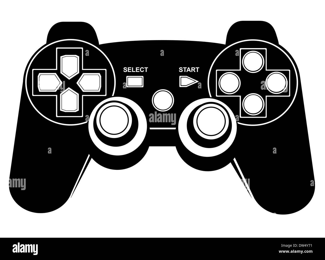 Game pad - Stock Image