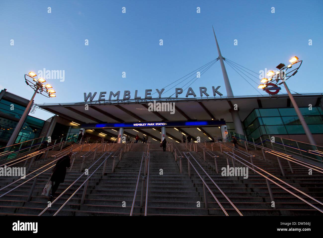 Wembley Park station,London,UK - Stock Image