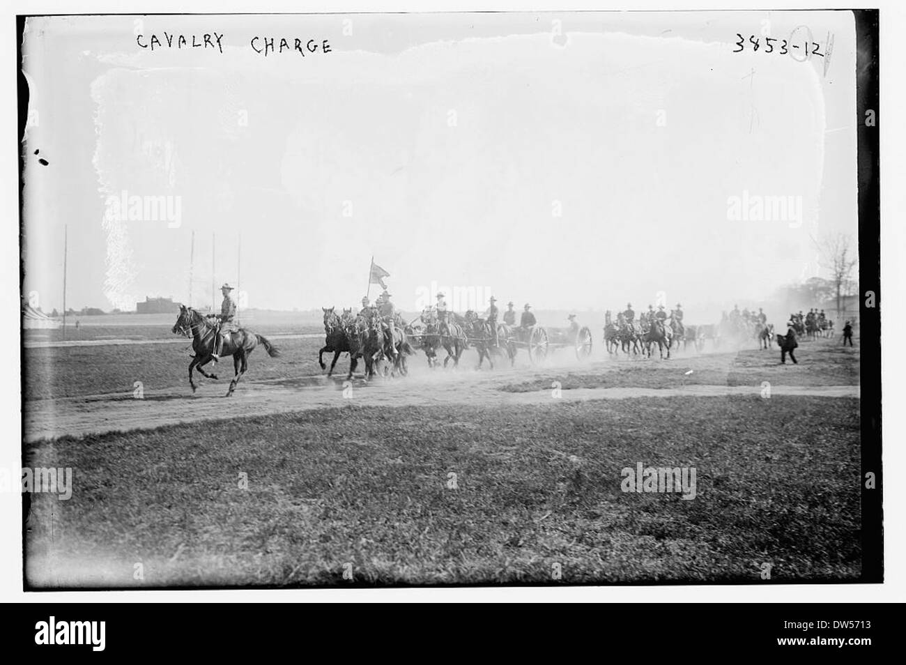 Cavalry Charge (LOC) - Stock Image