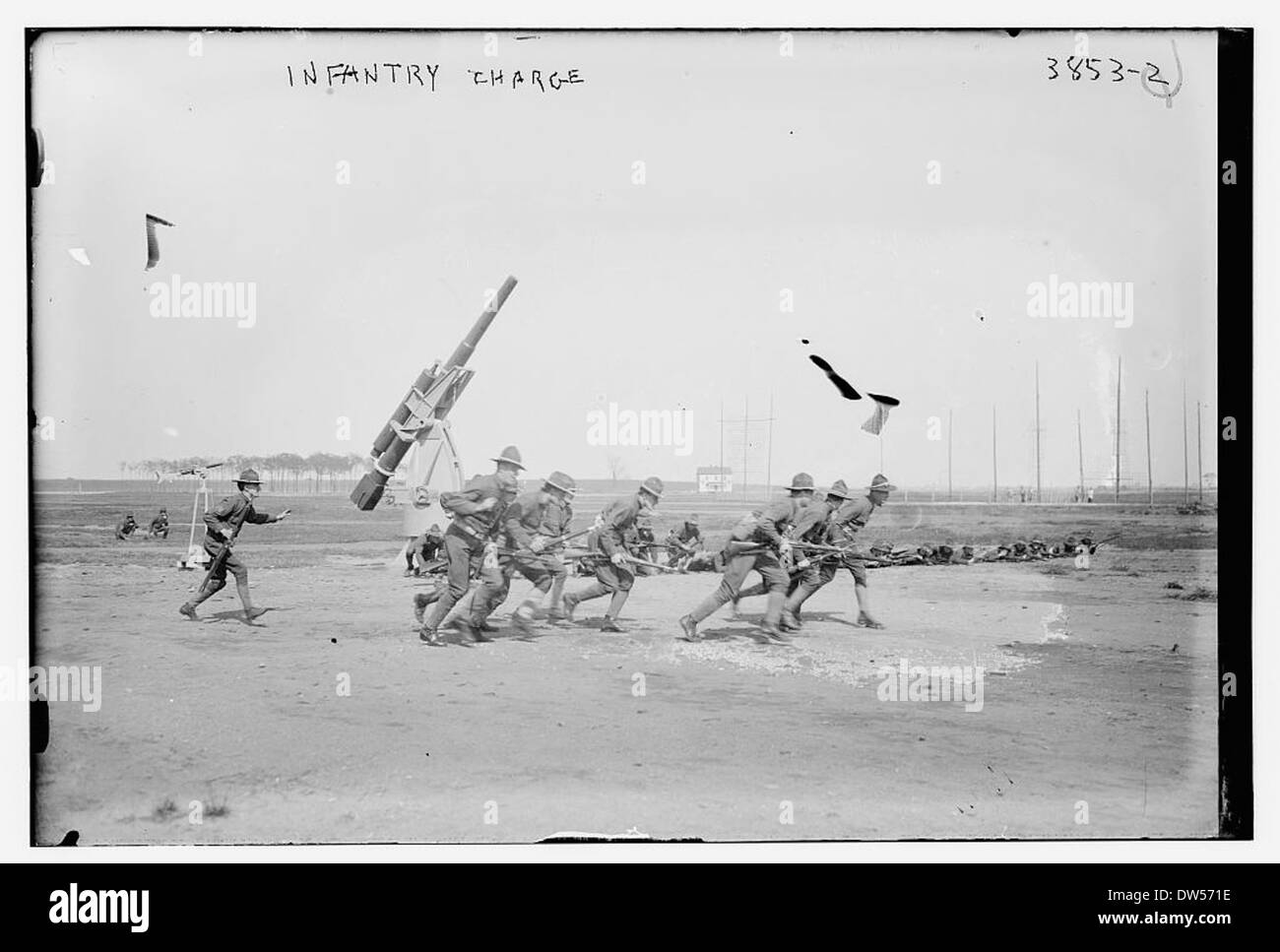 Infantry Charge (LOC) - Stock Image
