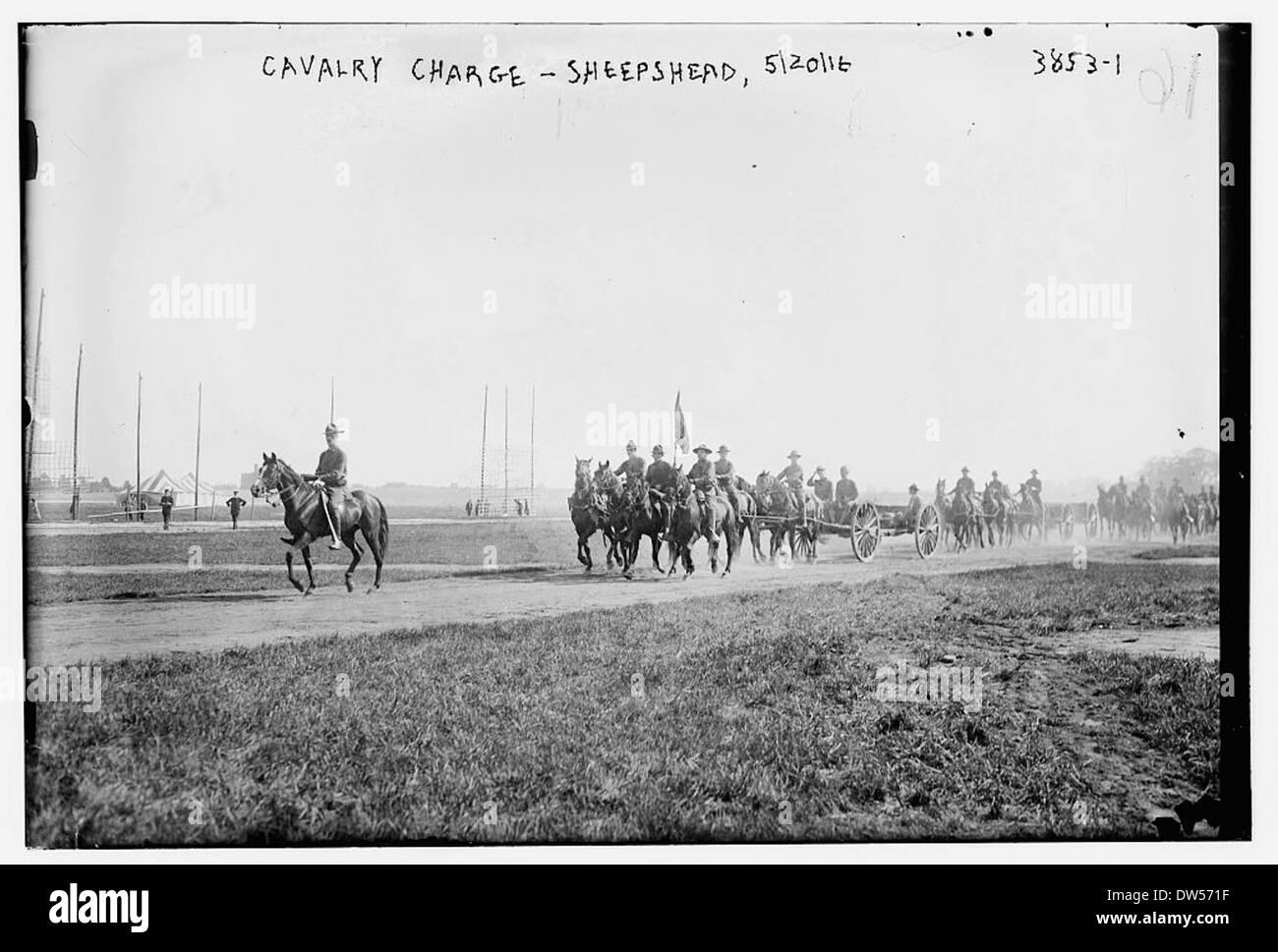 Cavalry Charge -- Sheepshead, 5/20/16 (LOC) - Stock Image