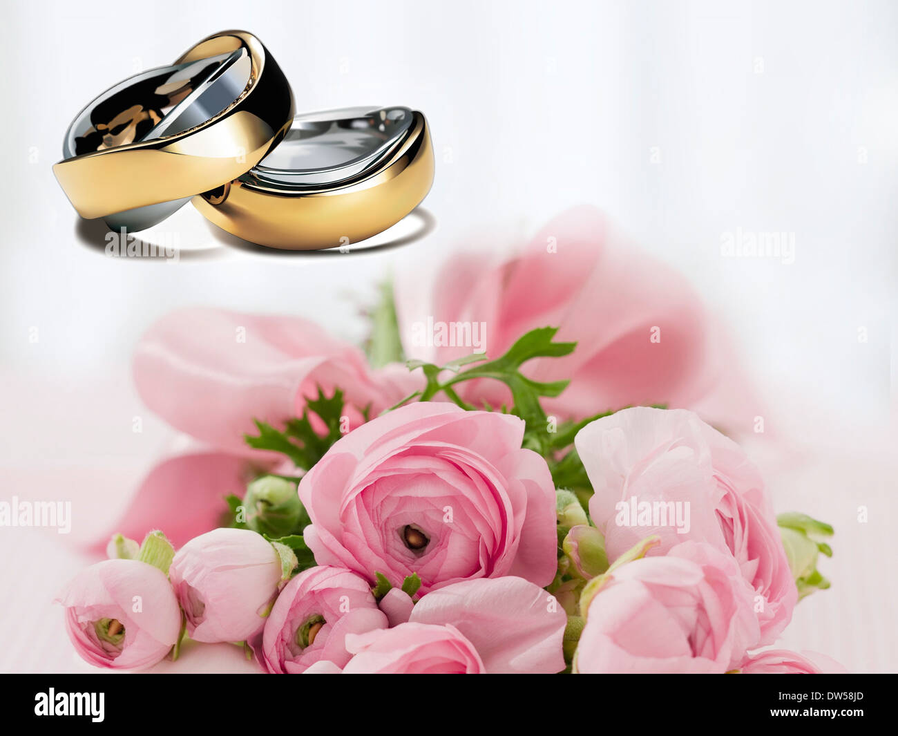 wedding rings wedding before love marry gold Stock Photo: 67114053 ...