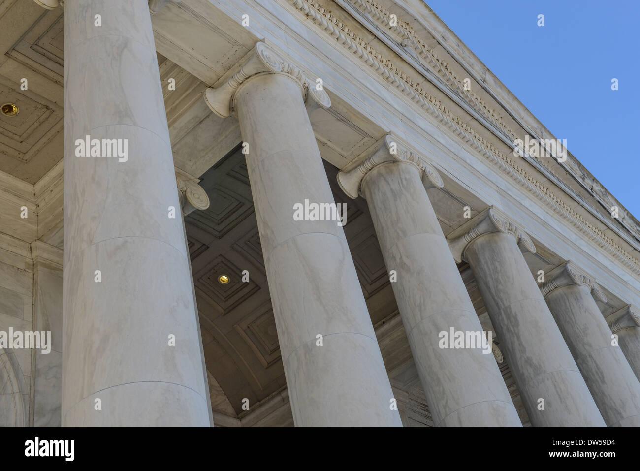 Legal Pillars - Stock Image