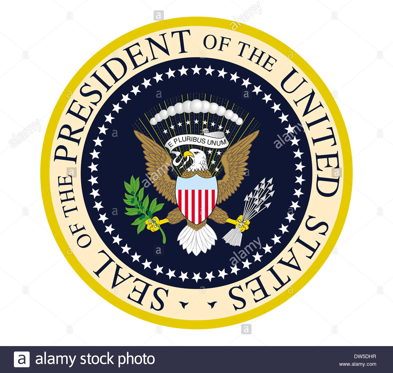seal for the president of the united states of america logo icon
