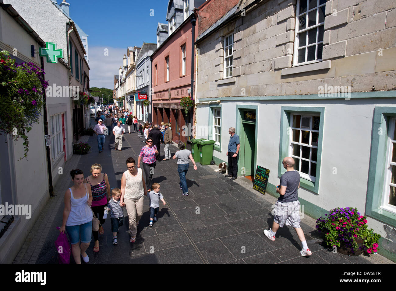 Cromwell Street, Stornoway - Stock Image