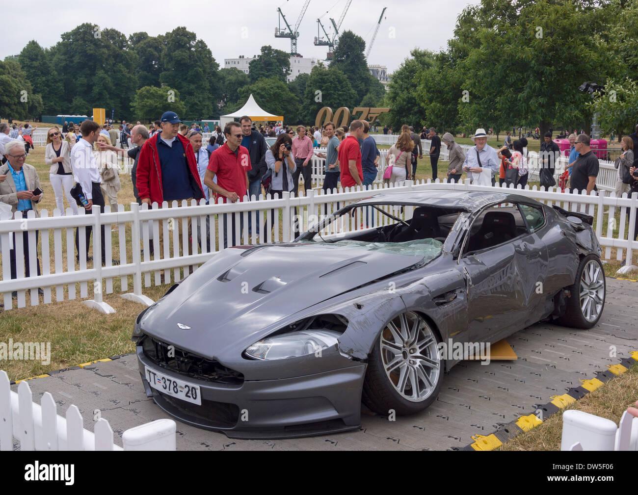 James Bond Aston Martin Dbs Stock Photos James Bond Aston