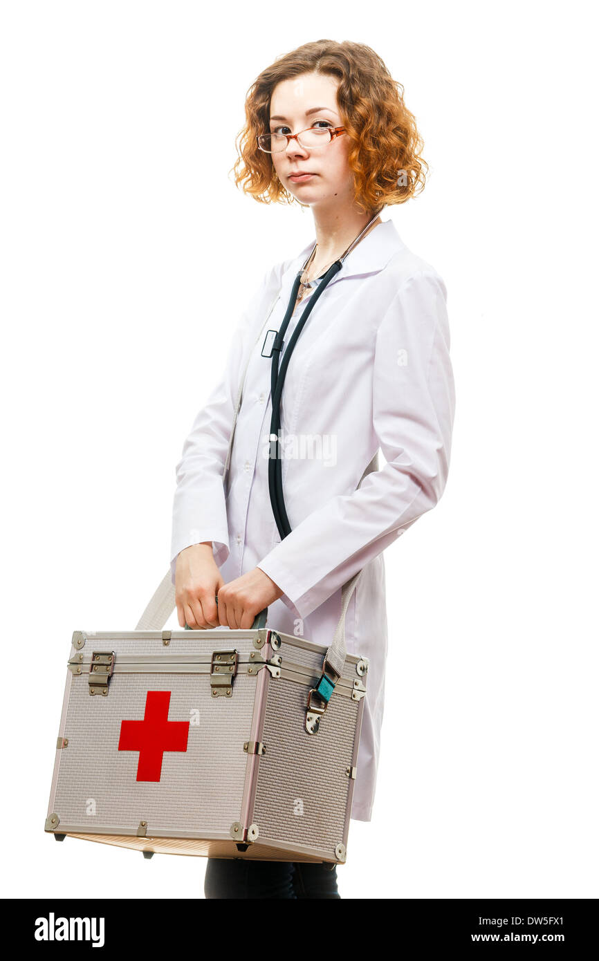 ESMERALDA: Redhead doctor white
