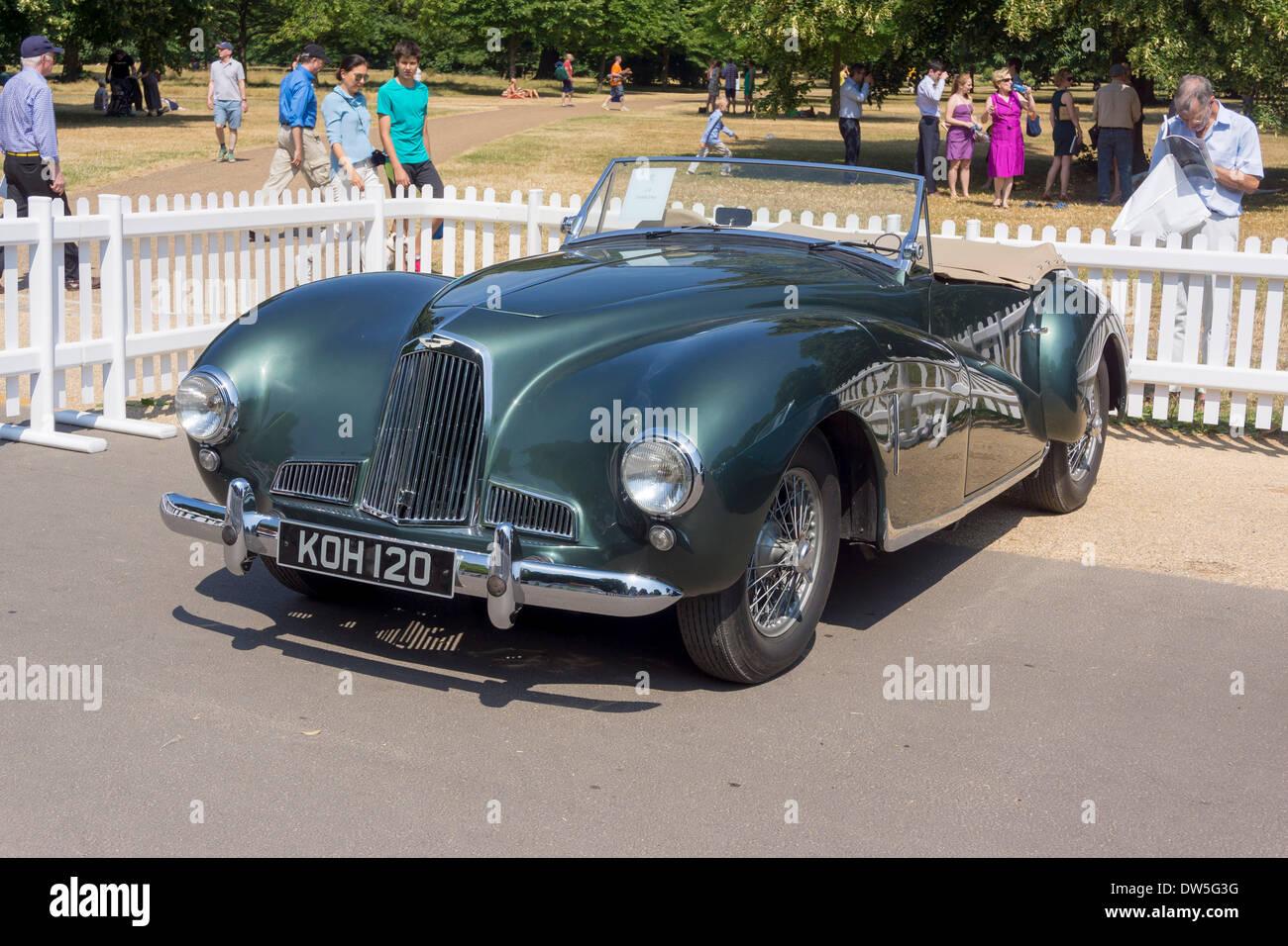 Two Liter Aston Martin Sports Db1 1948 1950 Aston Martin Stock Photo Alamy