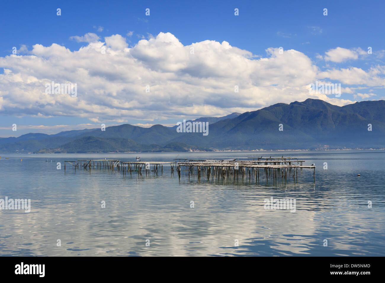 This photo was taken at Florianópolis, Santa Catarina, Brazil - Stock Image