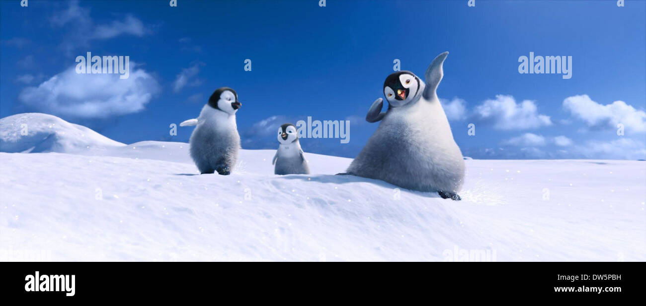 GEORGE MILLER (DIR) PENGUINS - Stock Image