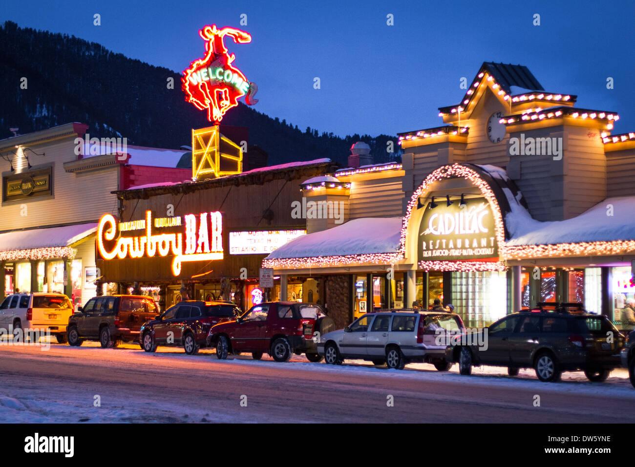 Famous Quot Million Dollar Cowboy Bar Quot Jackson Hole Wyoming