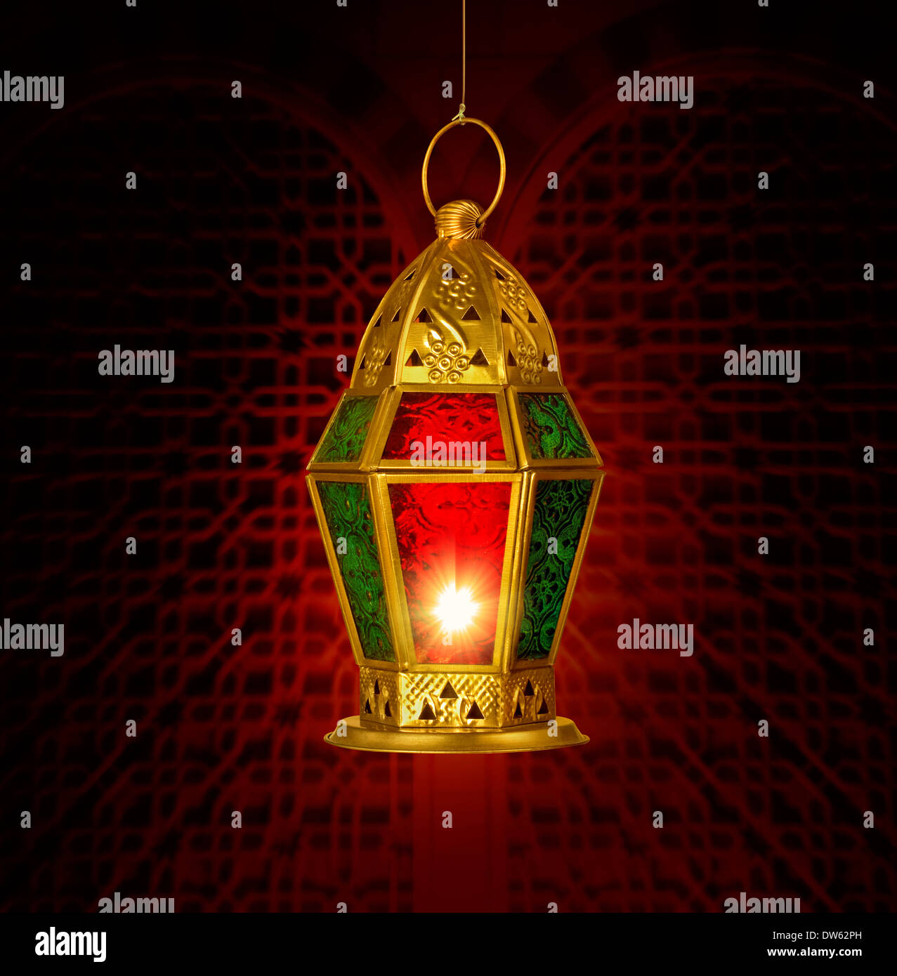 Ramadan greeting card template traditional stock photos ramadan a ramadan greeting card template with traditional lamp stock image m4hsunfo
